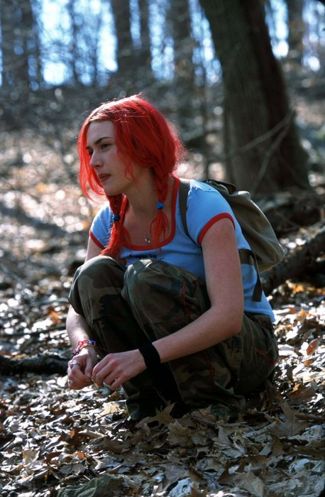 movie style crush kate winslet in eternal sunshine of the