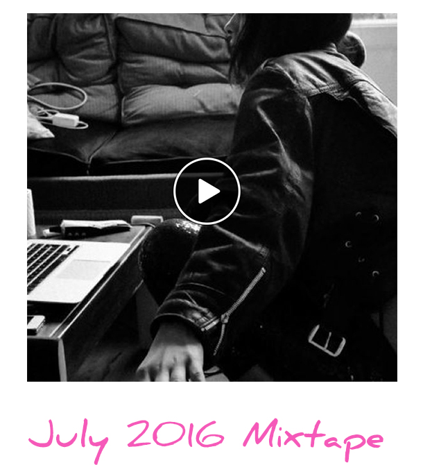Listen to the monthly mixtape!